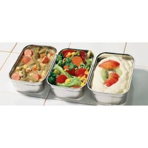 Menut soep en dessertschaal RVS